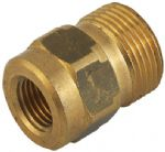 "3/8"" BSP Female x M22 x 1.5 Male Pressure Washer Adaptor"